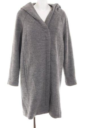 Street One Wool Coat light grey flecked casual look