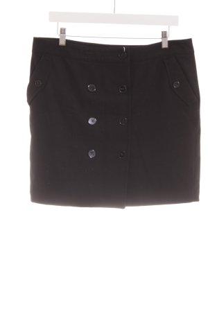 Street One Wool Skirt black business style