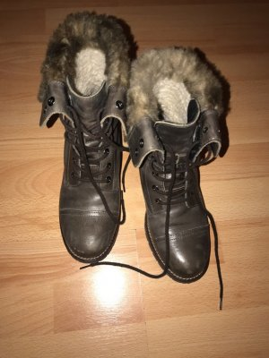 Street shoes Boots Leder