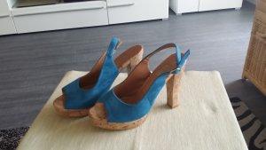 Street Shoes Peeptoes Sandale Größe 38