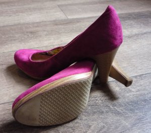 Street Shoes Pumps mit Plateau Pink/Magenta Gr. 39