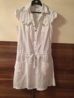 StreetOne Damen Leinen Kleid Sommerkleid