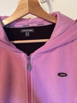 Street One Fleece Jackets rose-gold-coloured-pink
