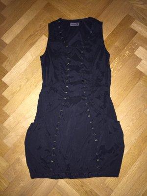 Streetwear Retro- Kleid von Nümph, Gr 34, schlicht und extravagant mit vielen Häkchen
