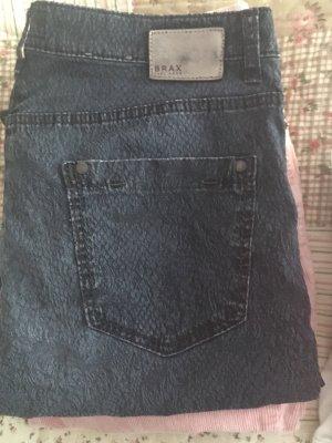 100% Fashion Stretch broek donkerblauw