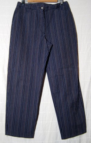 Streifen Jeans Größe 44 Stretch Hose 2 Taschen CANDA Dehnbund Schlanke Optik