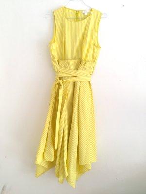 COS Hemdblousejurk geel