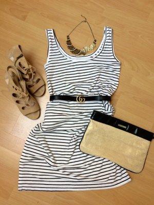 Streifen Kleid / Sommer / Maxikleid neu Blogger Style