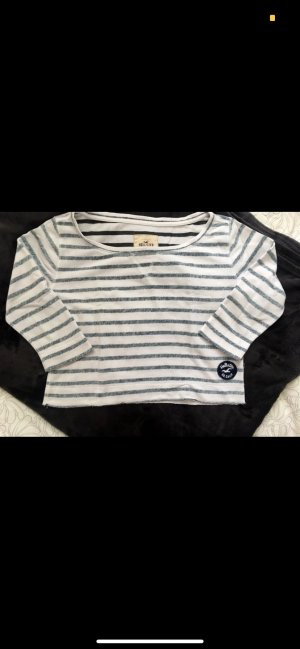 Hollister Crewneck Sweater white-blue