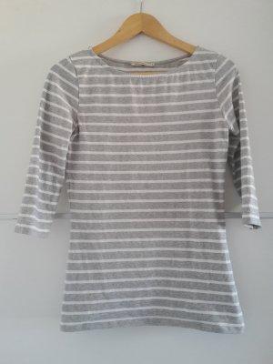 Streifen Shirt grau weiß Armedangels
