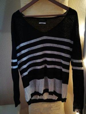 Streifen Strick Pullover
