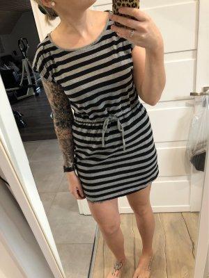 H&M Sweat Dress black-grey