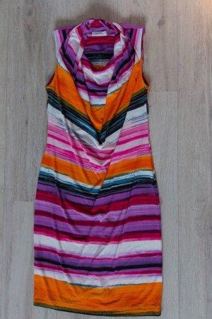 Calvin Klein Vestido de tubo multicolor tejido mezclado