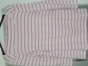Esprit Carmen shirt roze-wit