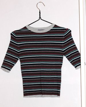 Forever 21 Ribbed Shirt multicolored