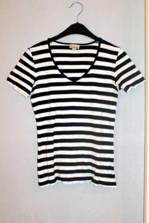Brookshire T-Shirt black-white