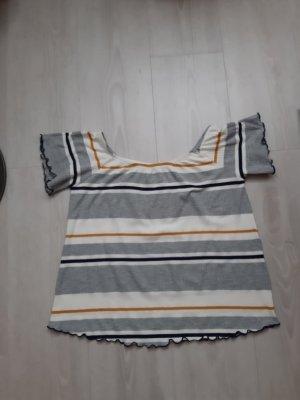 Camisa tipo Carmen multicolor