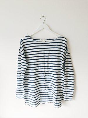 Streifenshirt in Blau-Weiß