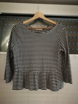 Brave Soul Stripe Shirt white-black