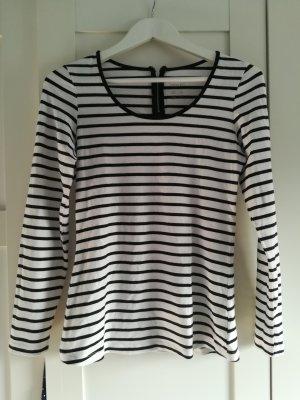 Esmara Stripe Shirt white-black