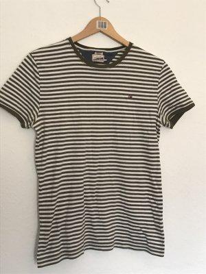 Hilfiger Denim Camiseta blanco puro-caqui
