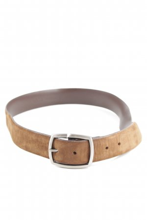 strellson Leather Belt nude casual look