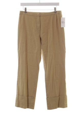 Strenesse 7/8-Hose beige schlichter Stil