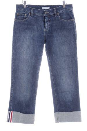 Strenesse 7/8 Jeans blau Bleached-Optik