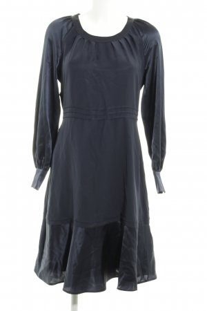 Strenesse Robe trapèze bleu foncé élégant