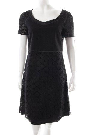 Strenesse A-Linien Kleid schwarz schlichter Stil