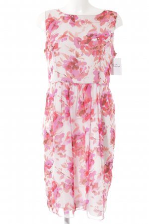 Strenesse Evening Dress floral pattern casual look