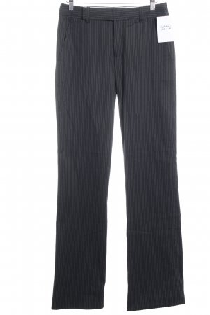 Strenesse Suit Trouser dark blue-white pinstripe business style