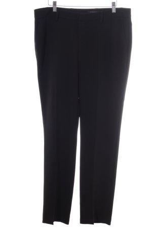 Strenesse Pantalon de costume noir style d'affaires