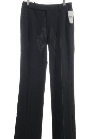 Strenesse Anzughose schwarz Business-Look