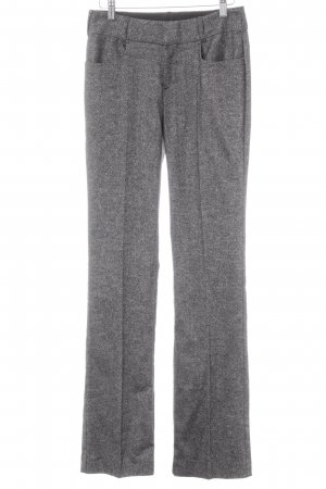 Strenesse Suit Trouser black-grey flecked