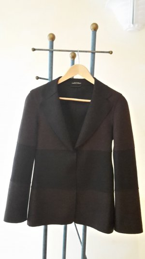 Strenesse Gabriele Strehle Wool Blazer black-brown new wool