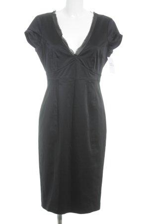 Strenesse Falda estilo lápiz negro elegante