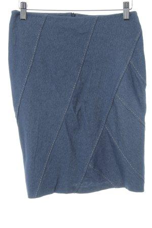 Strenesse Bleistiftrock blau-weiß Casual-Look
