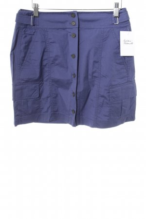Strenesse Bleistiftrock blauviolett Casual-Look