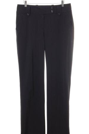 Strenesse Blue Pantalone da abito nero stile professionale