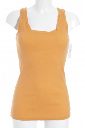 Strenesse Blue Basic Top orange Casual-Look