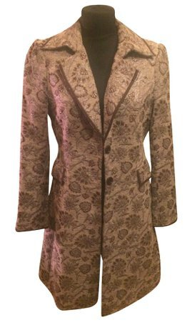 Blue Strenesse Frock Coat camel-cream