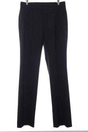 Strenesse Blue Pantalón de pinza negro estilo «business»
