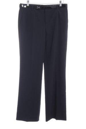 Strenesse Blue Pantalon à pinces noir style d'affaires