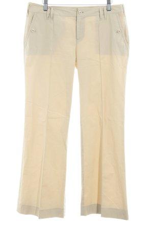 Strenesse Blue Pantalone chino crema stile casual