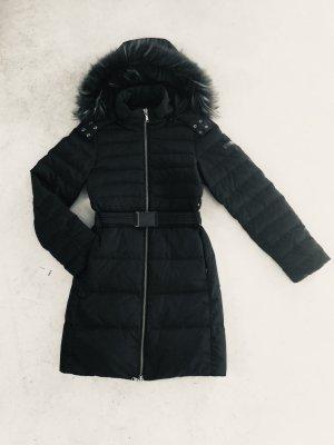 Blue Strenesse Abrigo de plumón negro Poliéster