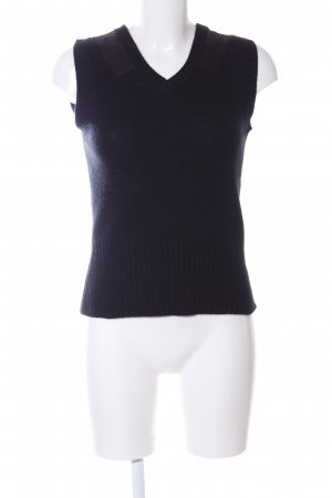 Strenesse Blue Fine Knitted Cardigan black business style