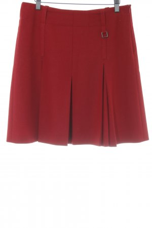 Strenesse Blue Godet Skirt red elegant