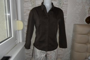 Blue Strenesse Shirt Blouse brown cotton