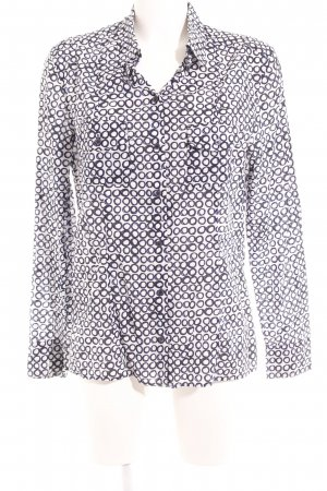 Strenesse Blue Hemd-Bluse Punktemuster Casual-Look